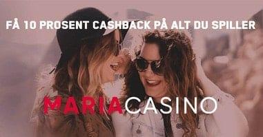 Cashback uten omsetningskrav